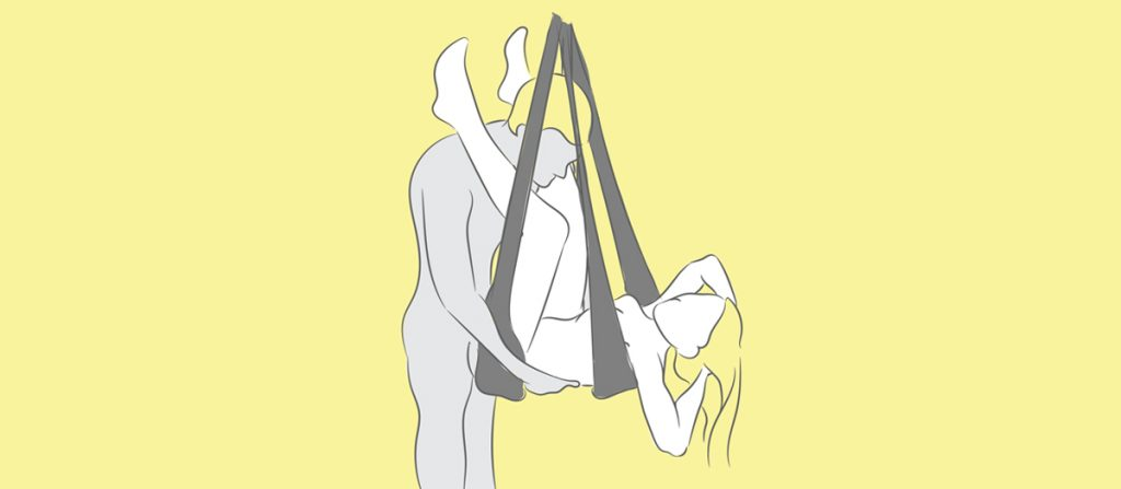 lying back sex swing position