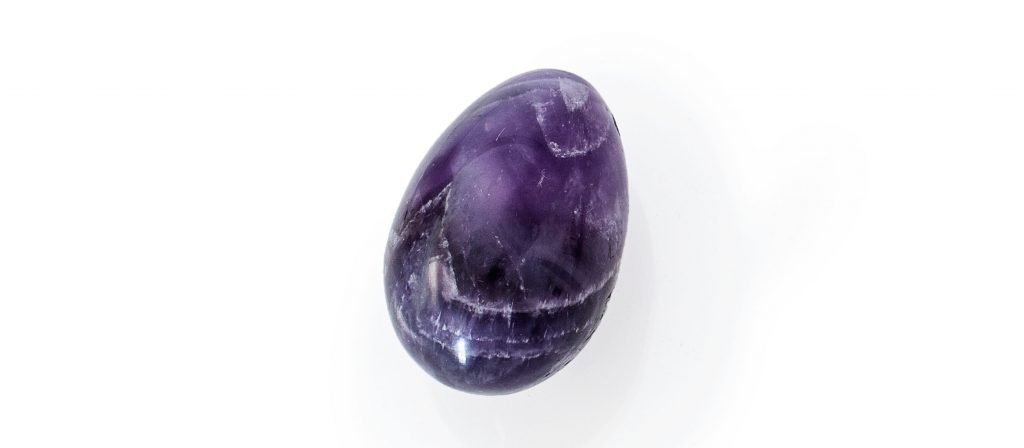 Amethyst Yoni Egg