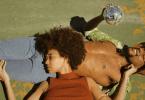 Couple into Testicle Massage