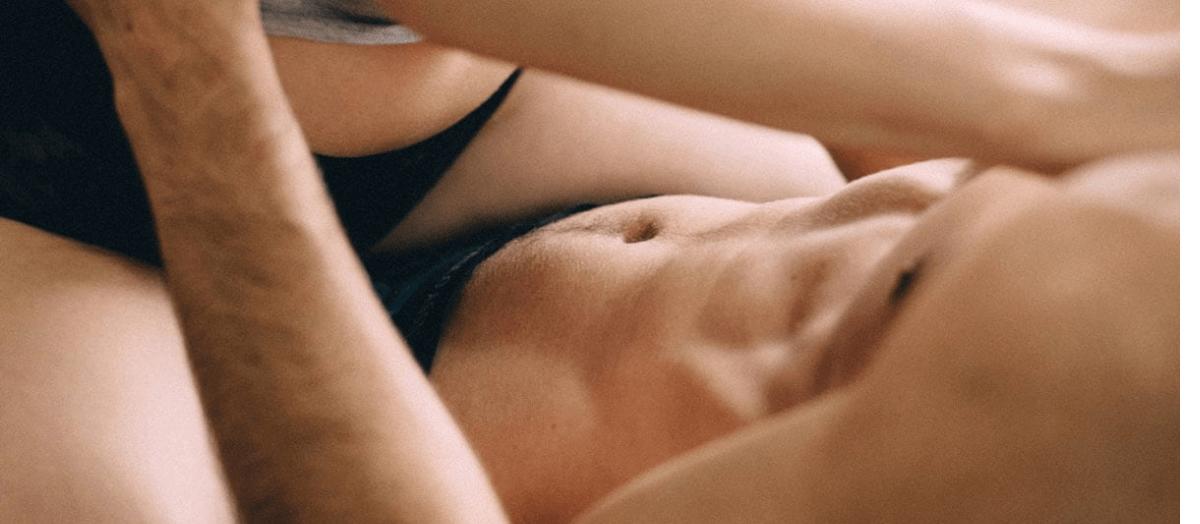 Couple having Tantric Sex