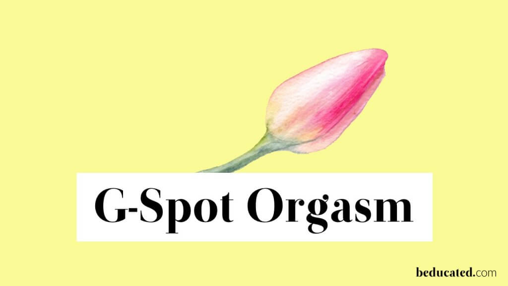 female orgasm g spot orgasm