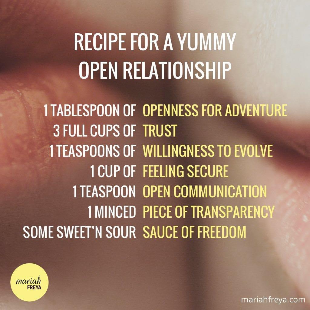 Wife wants open relationship