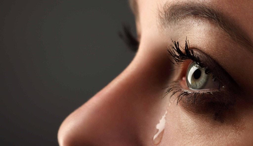 tear of pain