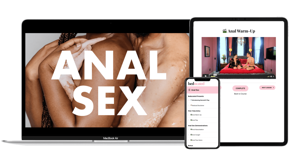 Anal Sex Online Course
