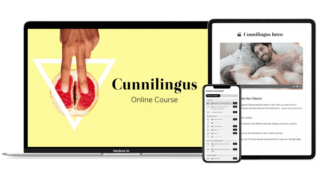 Cunnilingus Online Course