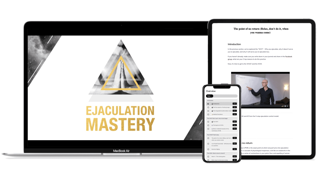 Ejaculation Mastery Online Course