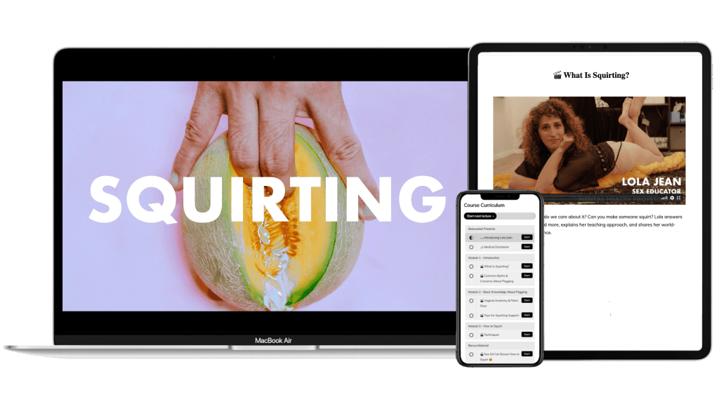 Squirting Online Course