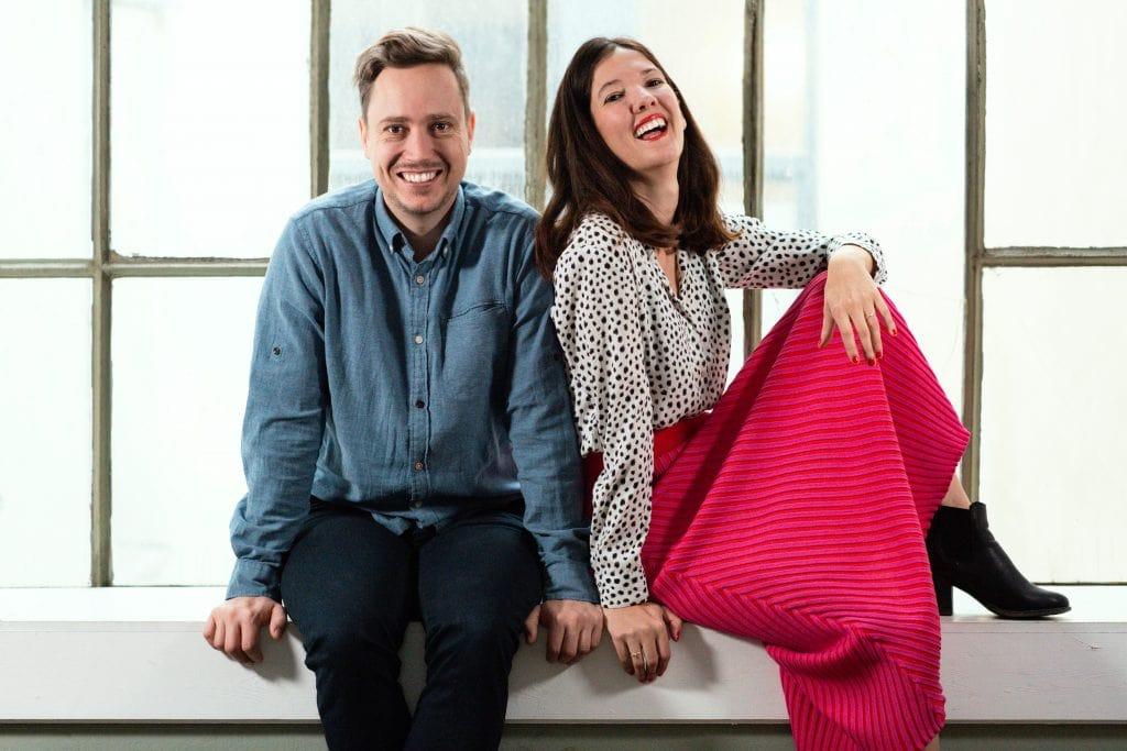 Phil Steinweber and Mariah Freya Beducated Founders